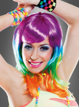 Rainbow Wig Women
