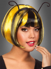 Bee Wig black yellow