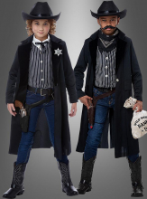 Outlaw Sheriff Children Costume
