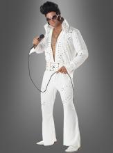 Elvis costume Adult suit white