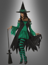 Emerald Witch Costume