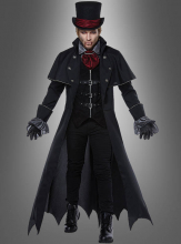 Gothic Vampir Costume for Men Deluxe