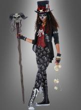 Voodoo Teenkostüm für Mädchen