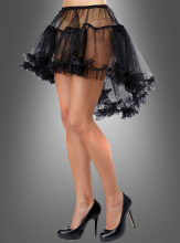 Hi-Low Pettiskirt black