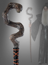 Fantasy Stab mit Schlangenkopf 150 cm