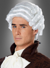 COLONIAL MAN WIG white