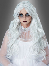 White Curly Wig for Ghost Women