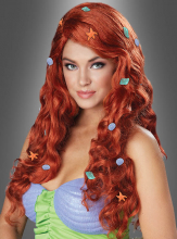 Aquatic Fantasy Wig Mermaid