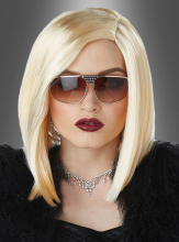 Asymmetrical Bob Wig Blonde