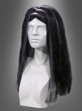 Long Hair Wig Witch black grey