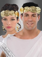 Golden Laurel Wreath Head Band