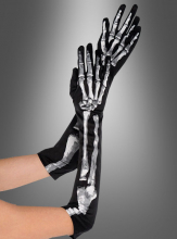 Long Bone Skeleton Gloves