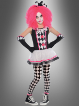 Clown Harlequin for Children pink