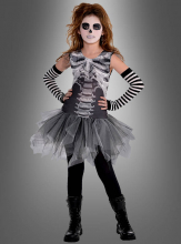 Skeleton Dress for Girls