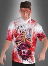 Blutiges Shirt Zombie