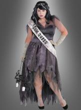 XXL Zombiekleid Abschlussball Königin 44