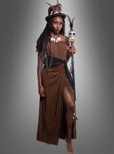 Voodoo Hexe Damenkostüm