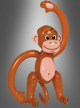 Inflatable monkey brown