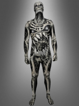 Morphsuit Skelett Skull and Bones