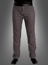 Striped Trousers for Men Pinstripe
