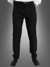 Schwarze Hose für Herren