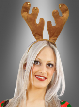 Reindeer Antlers hairband brown