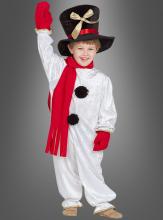 Schneemann Kostüm für Kinder