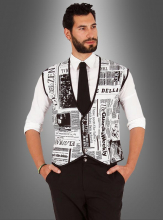 Vest Newspaper for Men