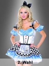 Alice Wunderland Kostüm  2. Wahl