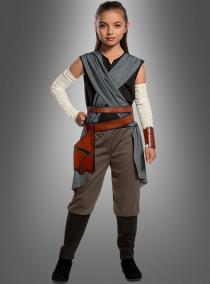 Rey Kostüm Kinder aus Star Wars VIII