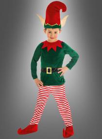 Weihnachtselfe Kinderkostüm