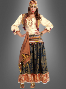 Premium Zigeunerin Damenkostüm
