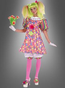 Zirkus Tickles Clown Damenkostüm