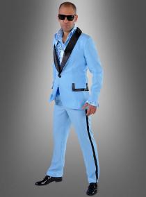 Blauer Anzug 50er Jahre für Herren