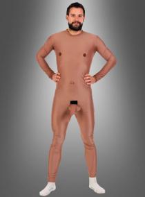 Adonis Kostüm Nacktanzug