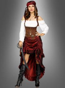 Kostüm Piratin der Weltmeere