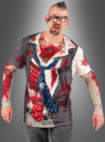 Fotorealistisches Zombie Shirt