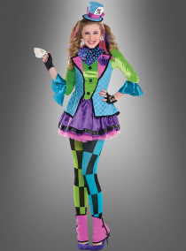 Teen Hutmacherin Kostüm