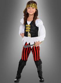 Piratenkostüm für coole Mädchen