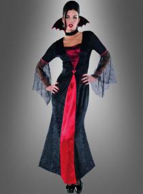 Vampira Kostüm für Damen