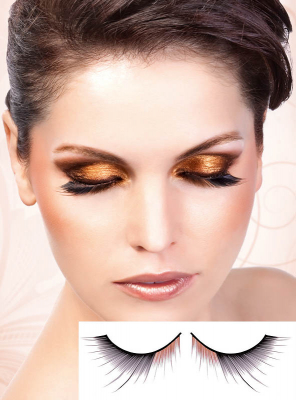 Black-Brown deluxe Eye Lashes