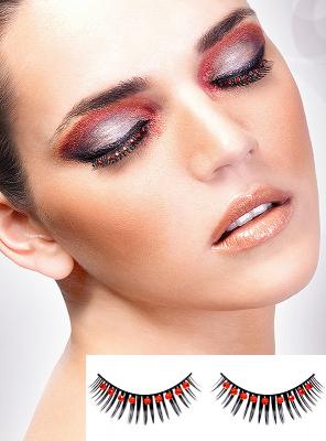 Diva Rhinestone Fake Eye Lashes
