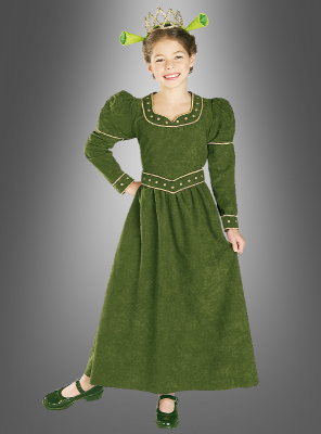 Princess Fiona Shrek Children Costume