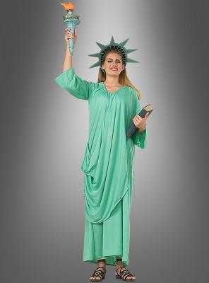 Freiheitsstatue Miss Liberty Kostüm