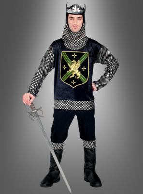 Ritter Kriegerkönig Herrenkostüm