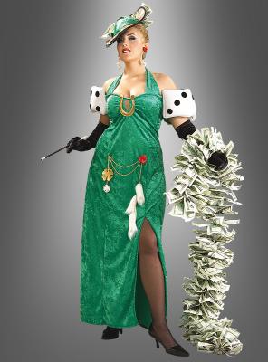 XXL Lady Luck costume