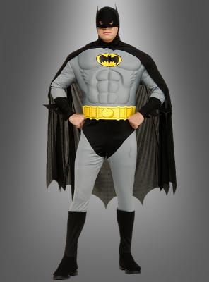XXXL Batman Muskel-Kostüm Deluxe