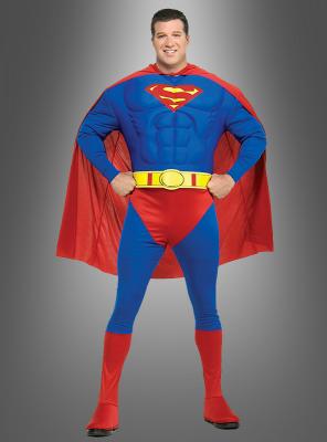 Superman Kostüm XXL Muskelkostüm