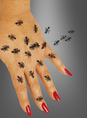 Halloween Creepy Ants Dekoration