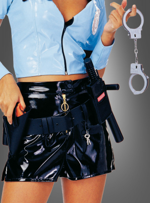 Utility Vinyl Police Officer Belt
